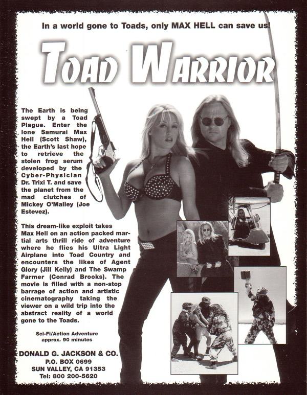 Toad Warrior Film Flyer