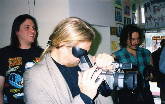 Scott Shaw Filming
