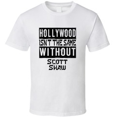 Scott Shaw tee shirt
