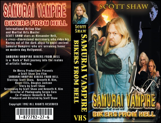 Samurai Vampire Bikers from Hell VHS