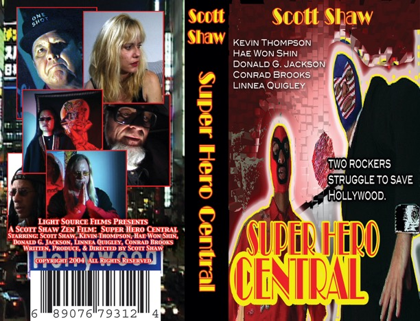 Super Hero Central Video Box